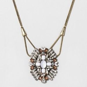 Crystal pendant necklace - Sugarfix by Baublebar